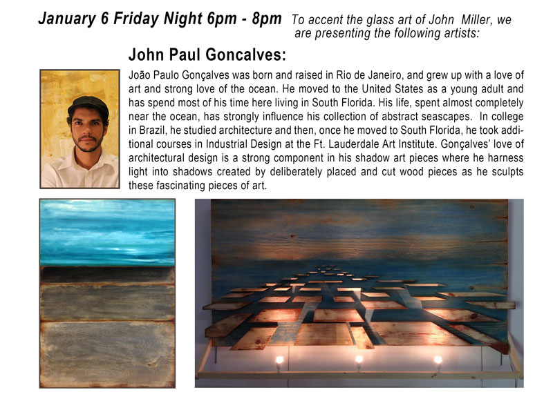 Gallery Openings 2017 John Paul Goncalves