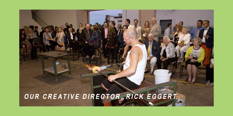 Our Creative Director, Rick Eggert